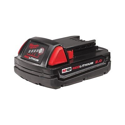 Milwaukee 48-11-1820 M18 18-Volt Lithium-Ion 2.0 Ah Compact Battery