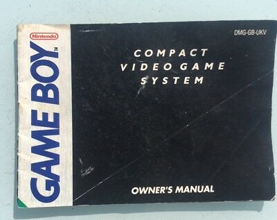 53288 Instruction Booklet - Compact Video Game System - Nintendo Game Boy (1990)