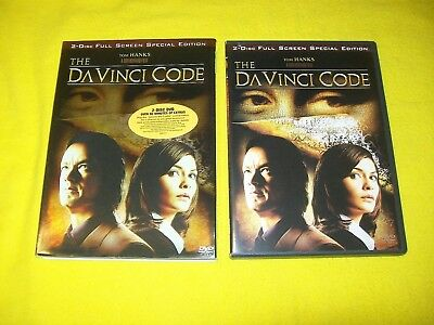 The Da Vinci Code Dvd With Slipcover 2 Disc Full Screen Special Edition