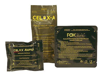 CELOX 15g  or A Applicator or Rapid Gauze or 5 ft ZFold Gauze or FoxSeal