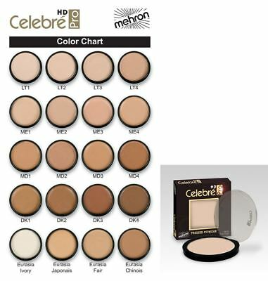 Mehron Celebre Pro-HD Pressed Powder Professional Theater Effects Makeup