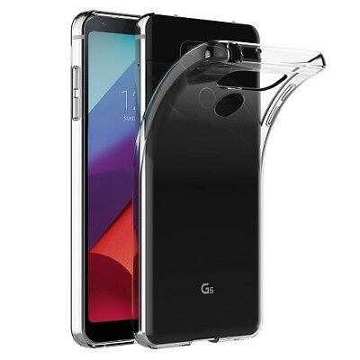 New Ultra Thin Clear Silicone Transparent Slim Gel Case Cover For LG Phones