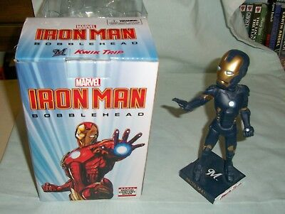 NIB 2017 Milwaukee Brewers Iron Man Bobblehead SGA Ironman Marvel Superhero