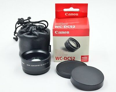 Canon WC-DC52 0.7x Wide-angle Converter Lens for PowerShot Series  (559)