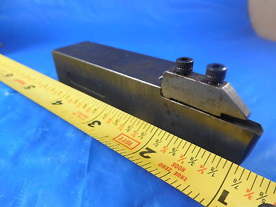 "Machester 237-103 1"" Square Shank Modified Insert Lathe Turning Tool Holder"
