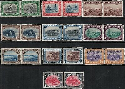 South West Africa 1931-1937 SC 108-117 MInt SCV $81.60 Set