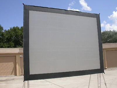 Da-Lite 10.5x14 Truss Frame Rear Projection SCREEN SURFACE ONLY Great Condition!