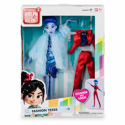 Disney Ralph Breaks the Internet Yesss Fashion Doll New w Box