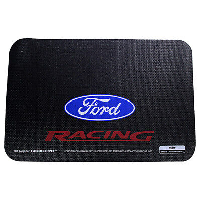 Fender Gripper FG2108 Mustang Fender Cover Black With Ford Racing Logo