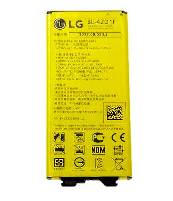 New Original OEM BL-42D1F Battery for LG G5 H850 VS987 H820 LS992 H830 US992 Lot