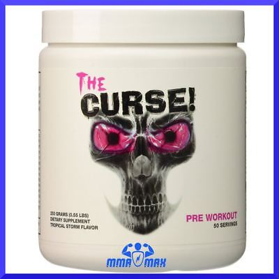 Cobra Labs The Curse  Strong Pre-Workout Energy Drink Gym Supplement Sample