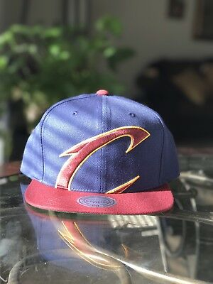 more photos 518ed f5736 ... free shipping nwt mitchell ness cleveland cavaliers snapback hats xl  logo 612a7 e86c1