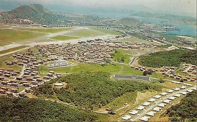 Postcard Panama Canal Zone Albrook Air Force Base c1950s Unused MINT