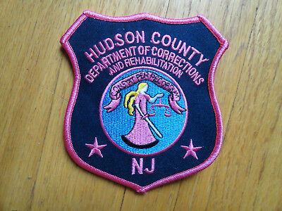 Hudson County Corrections pink breast cancer awareness