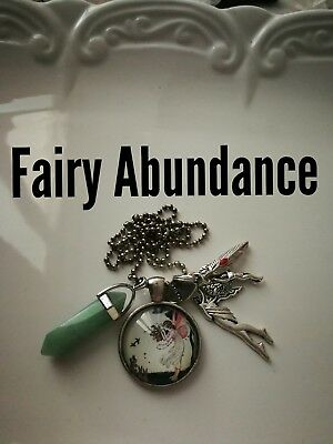 Code 462 Aventurine infused Fairy Necklace Doreen Virtue Certified Practitioner