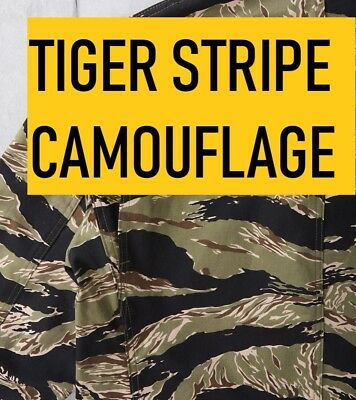 Tiger Stripe Camouflage A4 Stencil DIY Disruptive Camo Spray Paint Airbrush