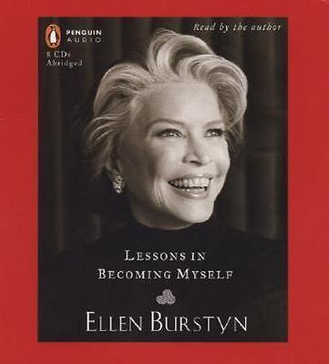 Lessons in Becoming Myself by Ellen Burstyn (Abridged Audiobook on CD) **NEW**