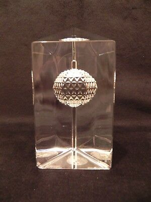 Waterford Crystal Times Square 2000 New Year's Eve Ball Drop Paperweight G24