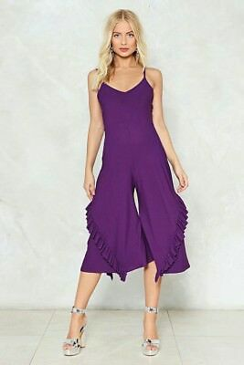 855b25aed9 NASTY GAL COLLECTION Purple Reina Maxi Dress Size XS M XL -  41.99 ...