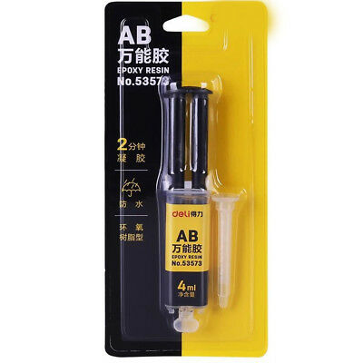 4ML Super Strong Epoxy Resin AB Glue Hardener Adhesive For Metal Plastic Wood