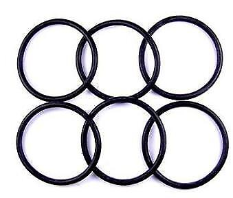 O Ring 9.12mm Inside diameter x 3.53mm NITRILE BS204 PACKET OF 6
