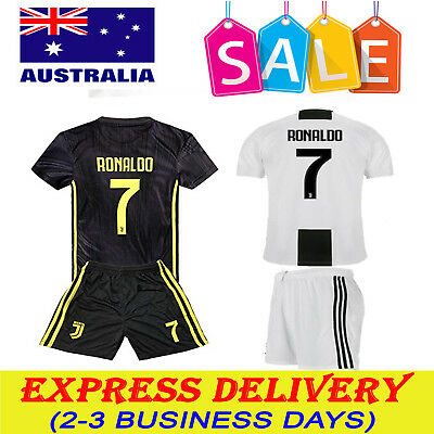 24e56ab8ab1 2018 19 Soccer Football Jersey Away Home Kit Short Sleeve Adult Kids Boys  Suit