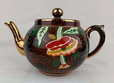 Vintage Gibson Teapot Multi-Color Collectible Made in England