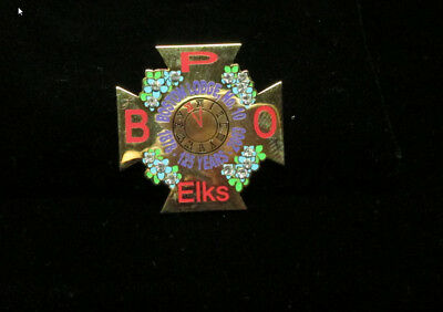 125Th Anniversary Of The Mother Lodge #10  Rare Elks Collectable Pin Bpoe