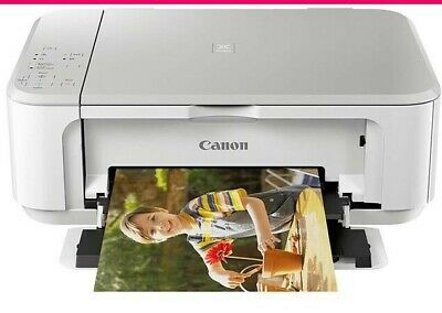 CANON Pixma MG3650 All in One Wireless Printer with FULL INKS