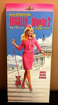 LEGALLY BLONDE 2: RED, WHITE & BLONDE (DVD, 2003, Widescreen, Special Edition)