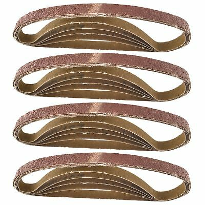 457 x 13mm Belt Power Finger File Sander Abrasive Sanding Belts