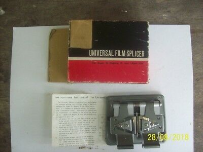 Vintage universal  film splicer good condition made in Japan