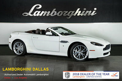 Aston Martin Vantage  NAV+HOMELINK+PWR HEATED SEATS+SILVER SPRT WHLS+SELF DIMMING MIRRORS