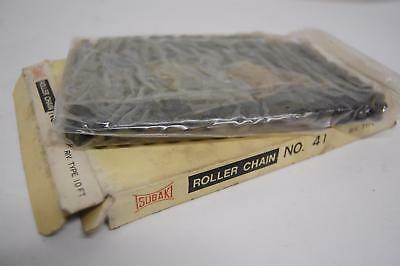 Tsubaki ANSI Riveted Roller Chain No. 41 10 ft
