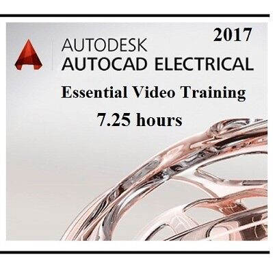 AutoCAD Electrical 2017 Essential Training Video - 7.25 hours