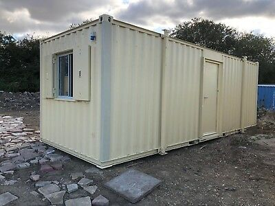 Site Office Welfare Portable Steel Building 24ft x 9ft More Available