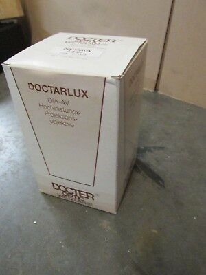 Boxed Docter Wetzlar Doctaron 85mm f /2.8 slide projector lens / projection lens