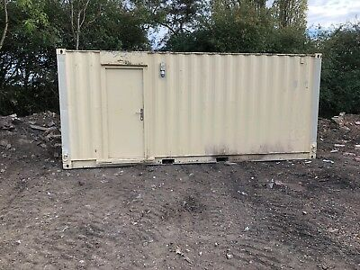 Site Office Cabin Welfare 20ft x 8ft Portable Steel Building