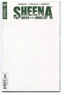 Sheena Queen of the Jungle (2017) #1 - Blank Sketch Cover - Dynamite Comics
