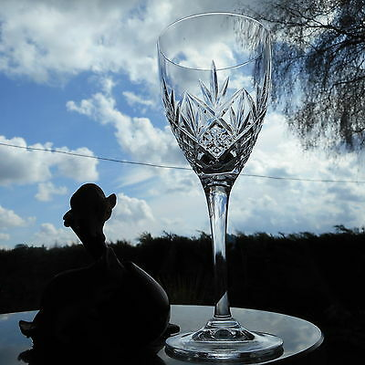 "Royal Doulton Crystal  HELLENE  7 ""  WINE glass OR glasses"