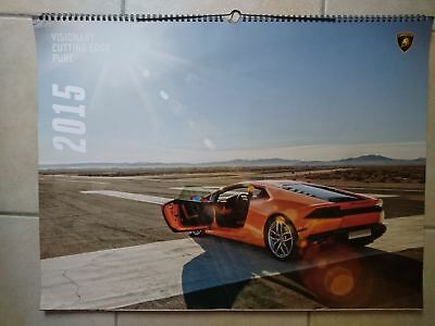 Lamborghini 2015 Calendario official calendar collection AVENTADOR veneo Huracan