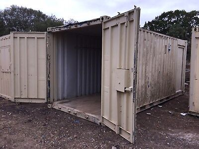 Site Office Cabin Storage Container Portable Steel Building 20ft x 8ft