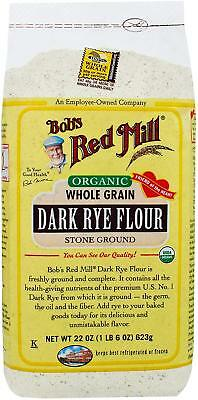 Bob's Red Mill Flour Dark Rye Organinc, 22-Ounce