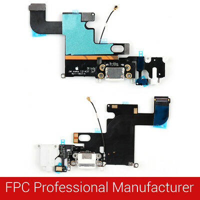 For iPhone USB Charging Port Dock Connector Flex Cable Fix Replacement Parts Te
