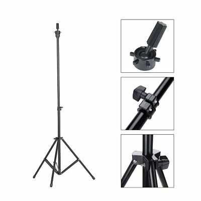 Adjustable Tripod Mannequin Head Wig Stand Holder With Carry Bag For Cosmetology