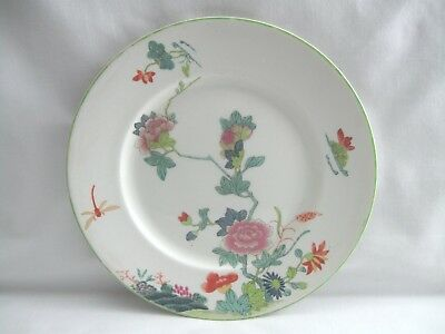 Antique Woods & Sons England Dragonfly Plate