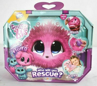 Little Live Scruff A Luvs  Puppy Kid Child Toy Rescue Pet Baby Doll Luv Pink NEW