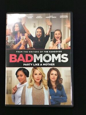 BAD MOMS MOVIE, DVD (2016) Mila Kunis FREE SHIPPING