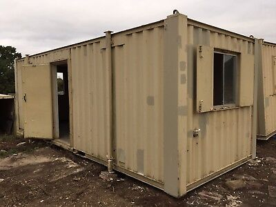 Site Office Site Cabin Canteen Welfare Unit 24ft x 9ft