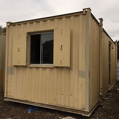 Site Office Cabin Portable Steel Building Welfare Unit 24ft x 9ft